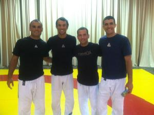 Marco Moreno and the Gracie brothers
