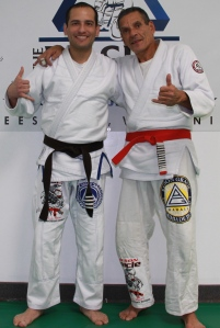 Marco Moreno and Relson Gracie